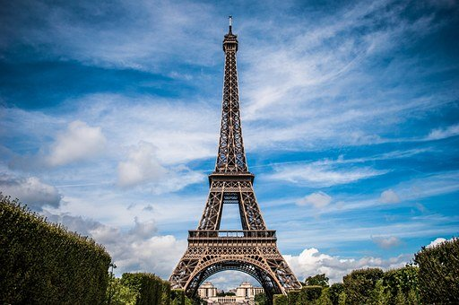 Eiffel Tower France Paris Landscape Eiffel