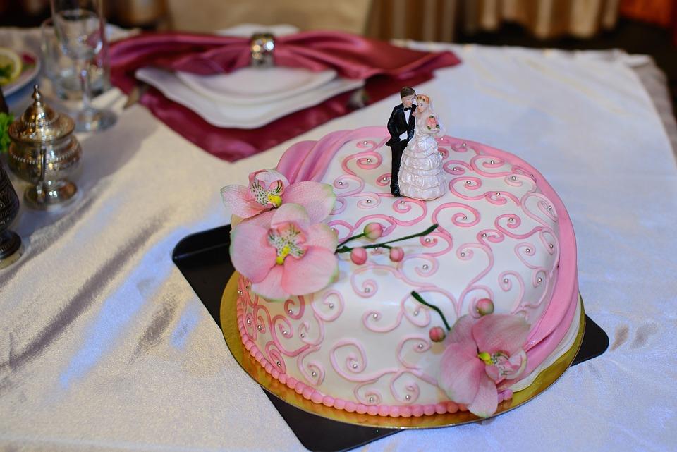 Hochzeitstorte Sussigkeiten Creme Kostenloses Foto Auf Pixabay