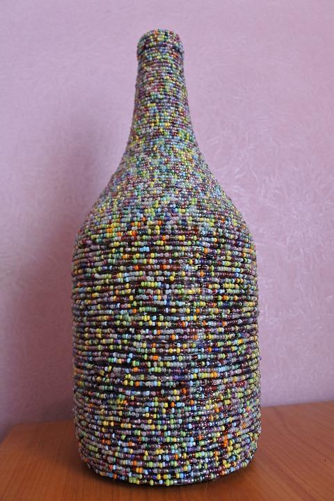 Bottle Beads Handmade Free Photo On Pixabay