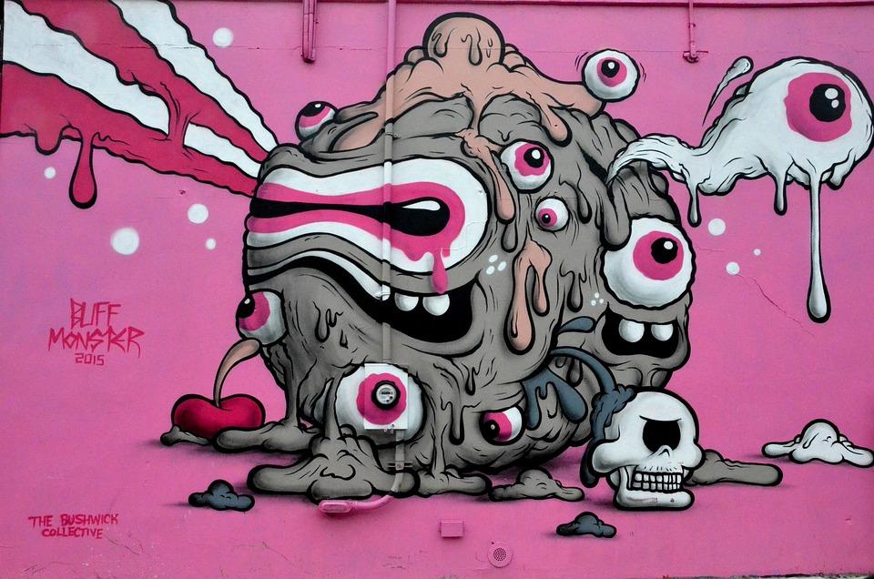 free photo street art graffiti new york art free
