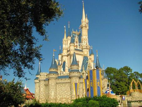 Disney World, Castle, Disney, Orlando