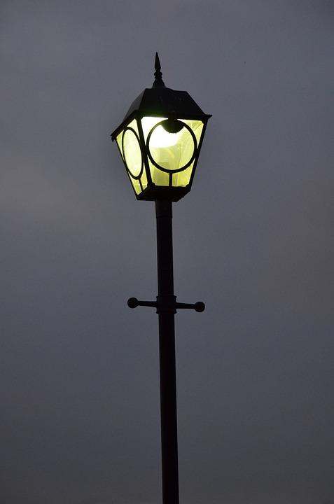 Lampadaire Lumiere Nuit Rue Photo Gratuite Sur Pixabay