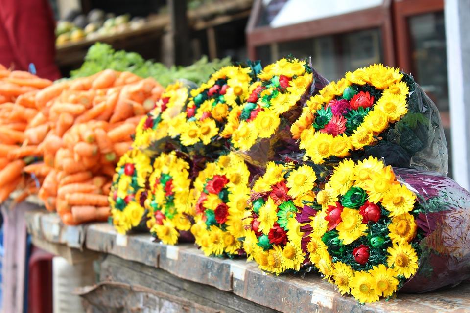 планировка цветочного магазина