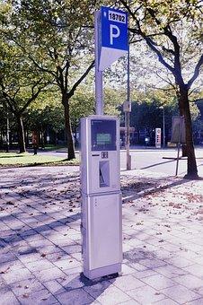 Parking Meter, Parking, Meter, Traffic
