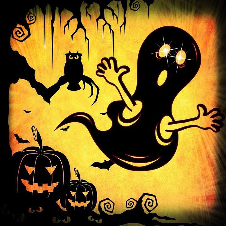 kostenlose illustration halloween geist k rbis geist kostenloses bild auf pixabay 979239. Black Bedroom Furniture Sets. Home Design Ideas