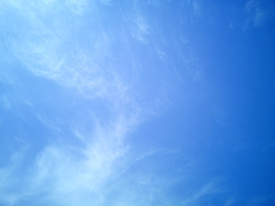 Photo Gratuite: Ciel, Firmament, Bleu, Fond