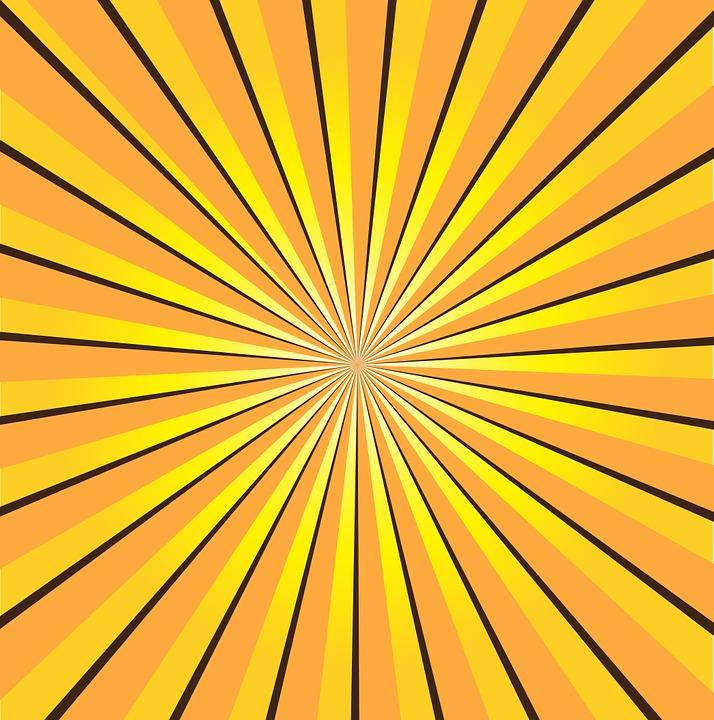 Free illustration: Sunburst, Yellow, Rays, Sun - Free Image on Pixabay ...