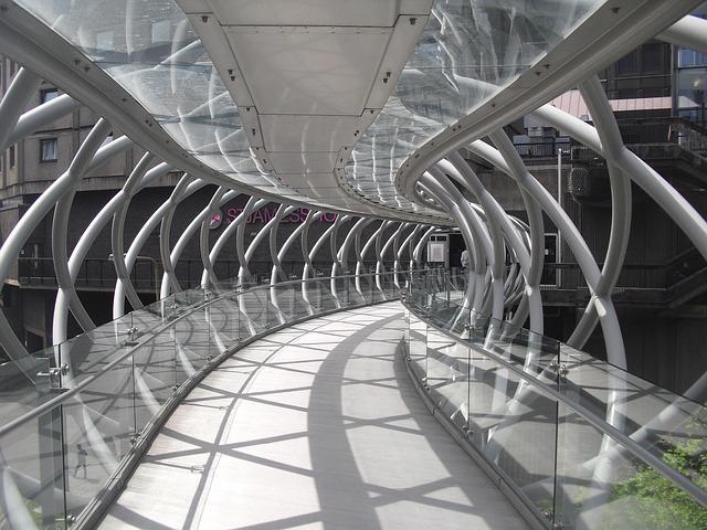 Bridge Pedestrian Modern 183 Free Photo On Pixabay