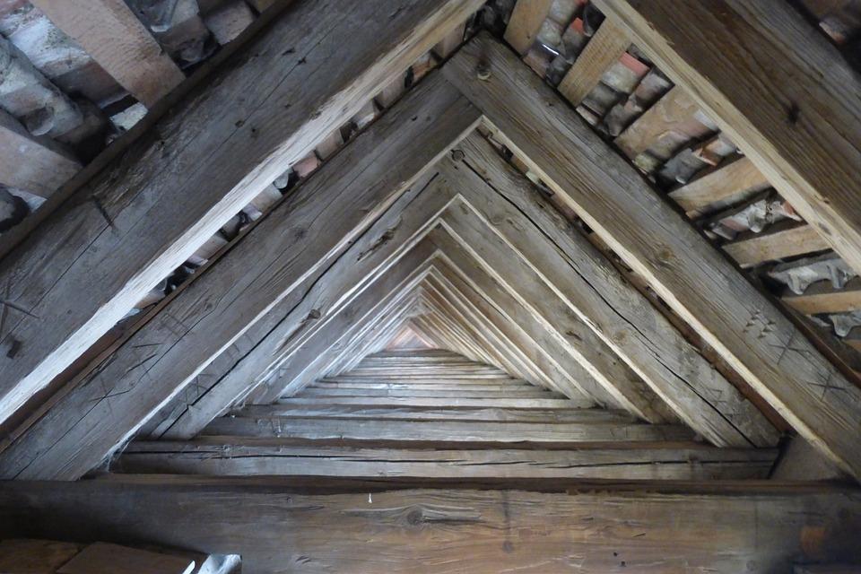 Dach Balken Symmetrie · Kostenloses Foto auf Pixabay