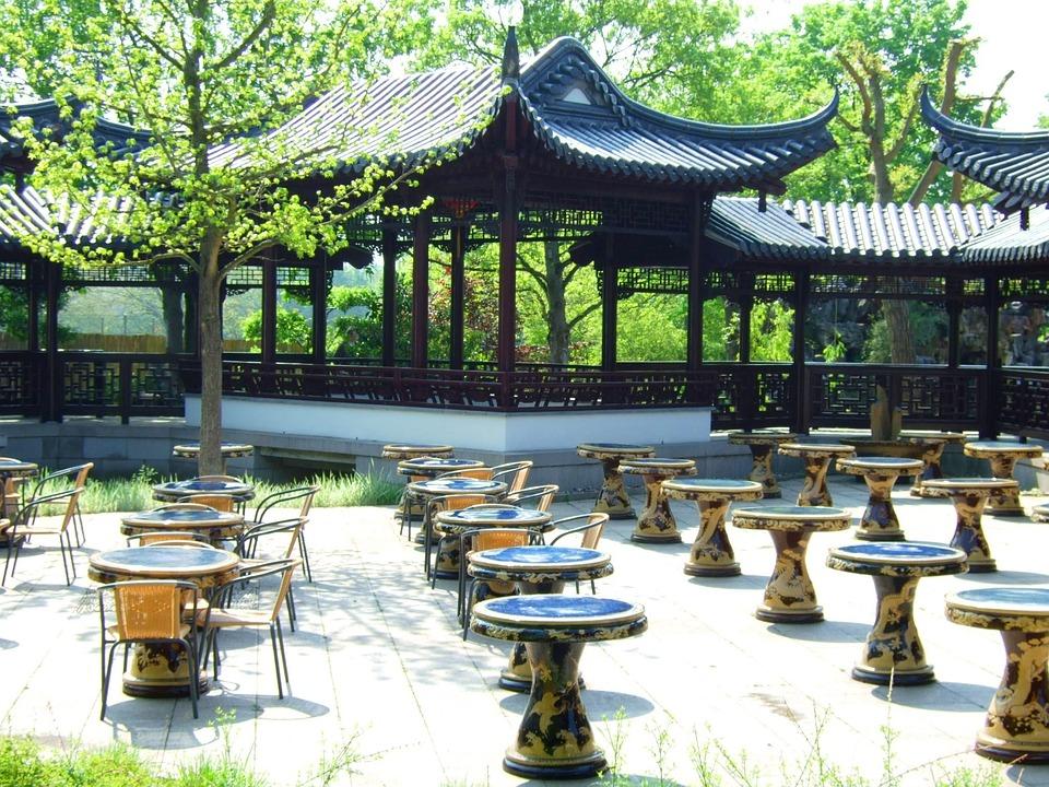 Japan, Garden, Japanese Garden, Stone Garden, Rock