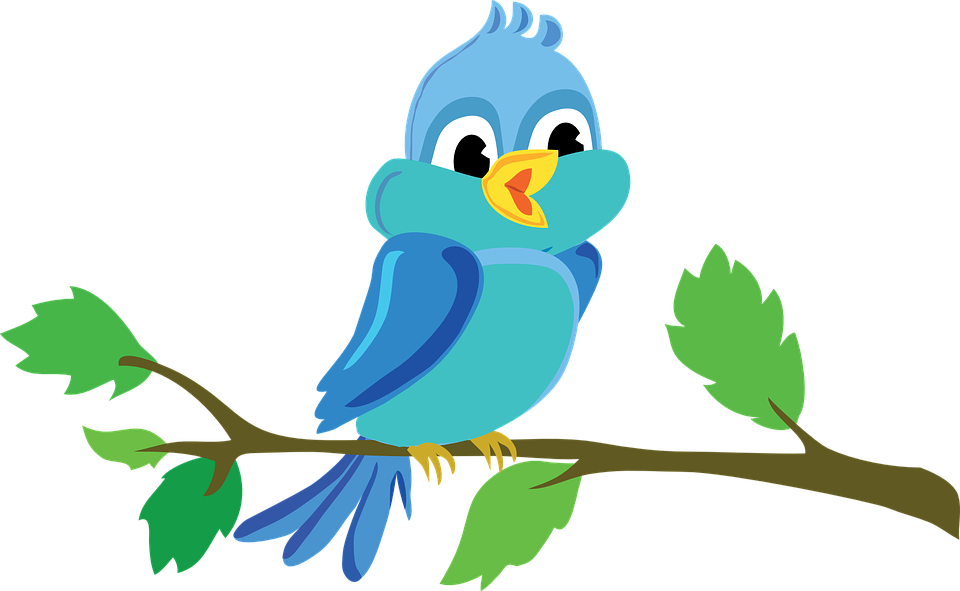 bird branch cute free vector graphic on pixabay rh pixabay com bird vector logo bird vector art