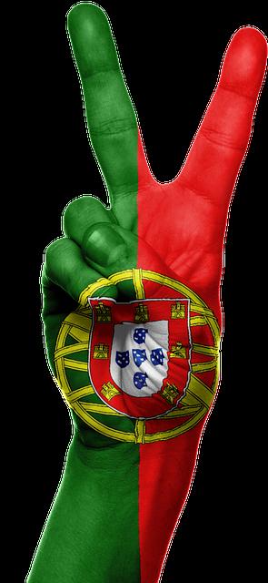 Patriotism >> Portugal Flag Hand · Free image on Pixabay