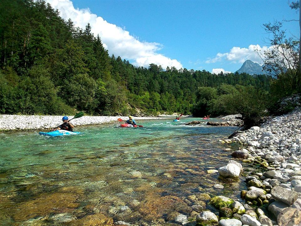 Kajak, Kayak, Attività, Avventura, Soča, Slovenia