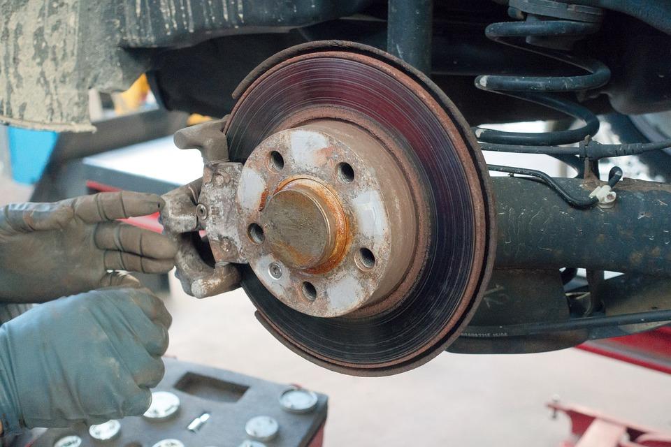 Disc Brake Rust Auto Repair Free Photo On Pixabay