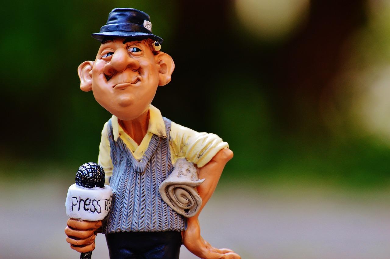 Подари улыбку, прикольные картинки журналиста