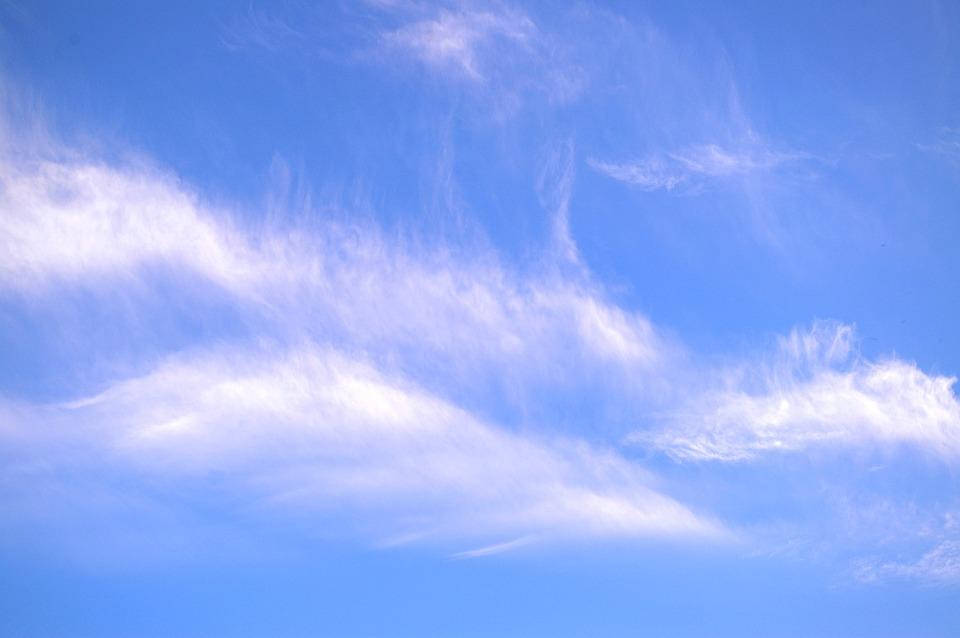Nuages De Printemps Ciel Bleu Photo Gratuite Sur Pixabay