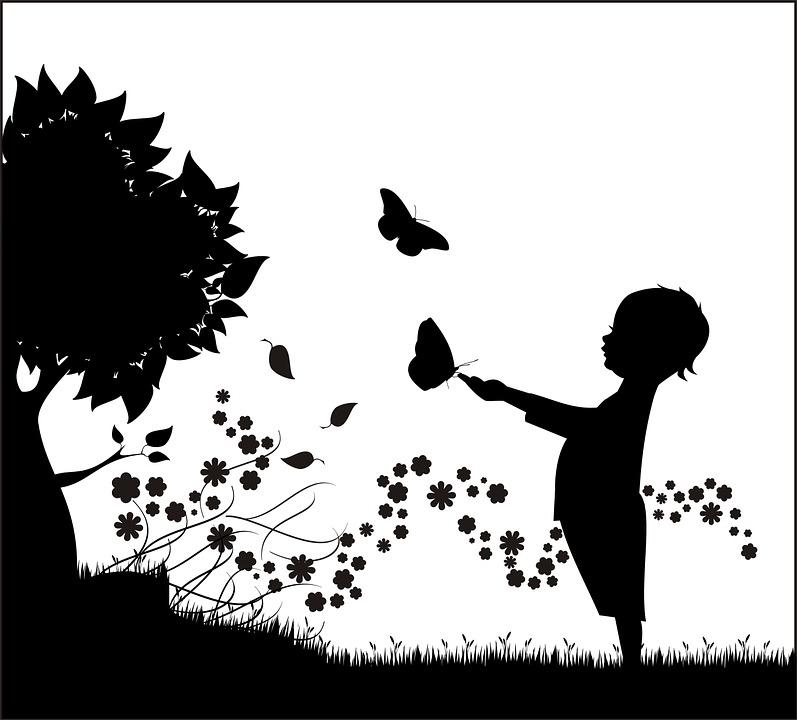 Illustration Gratuite Arbre Enfant Enfants Garcon