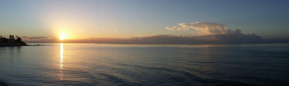 Breaking Dawn, Ήλιος, Ορίζοντα, Ακινησία