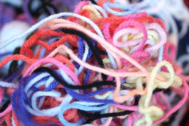 Free Photo Yarn Colors Tangle Thread Free Image On