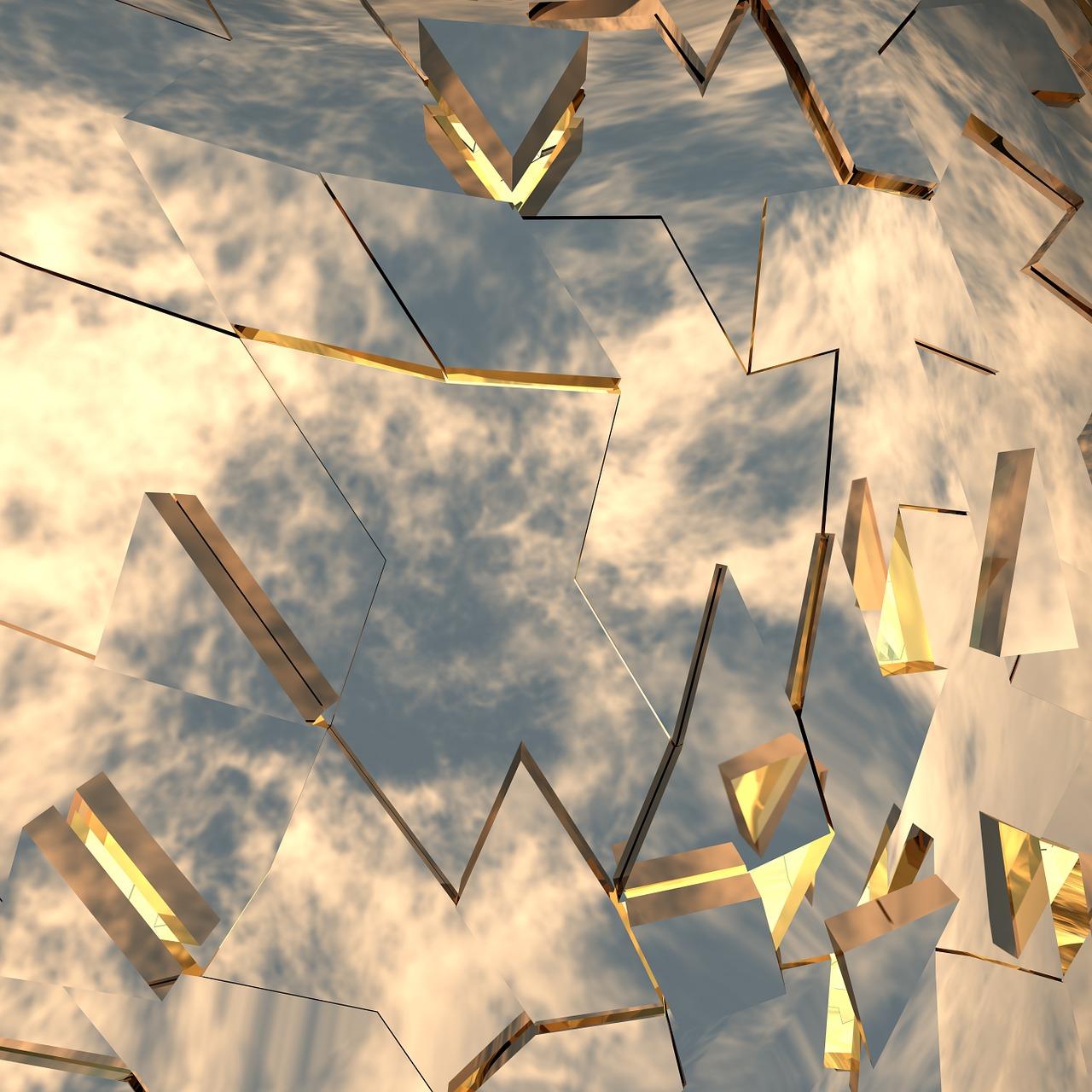 Разбитое зеркало картинка для детей