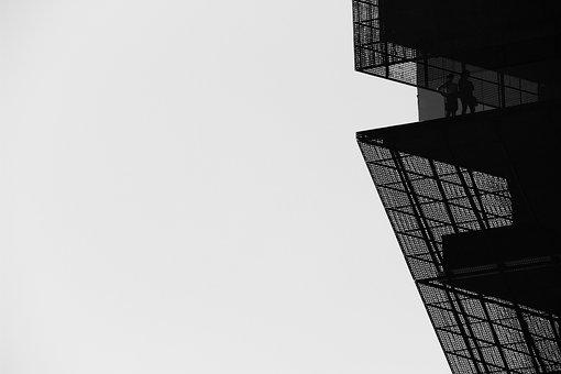 Linien, Geometrischen, Architektur