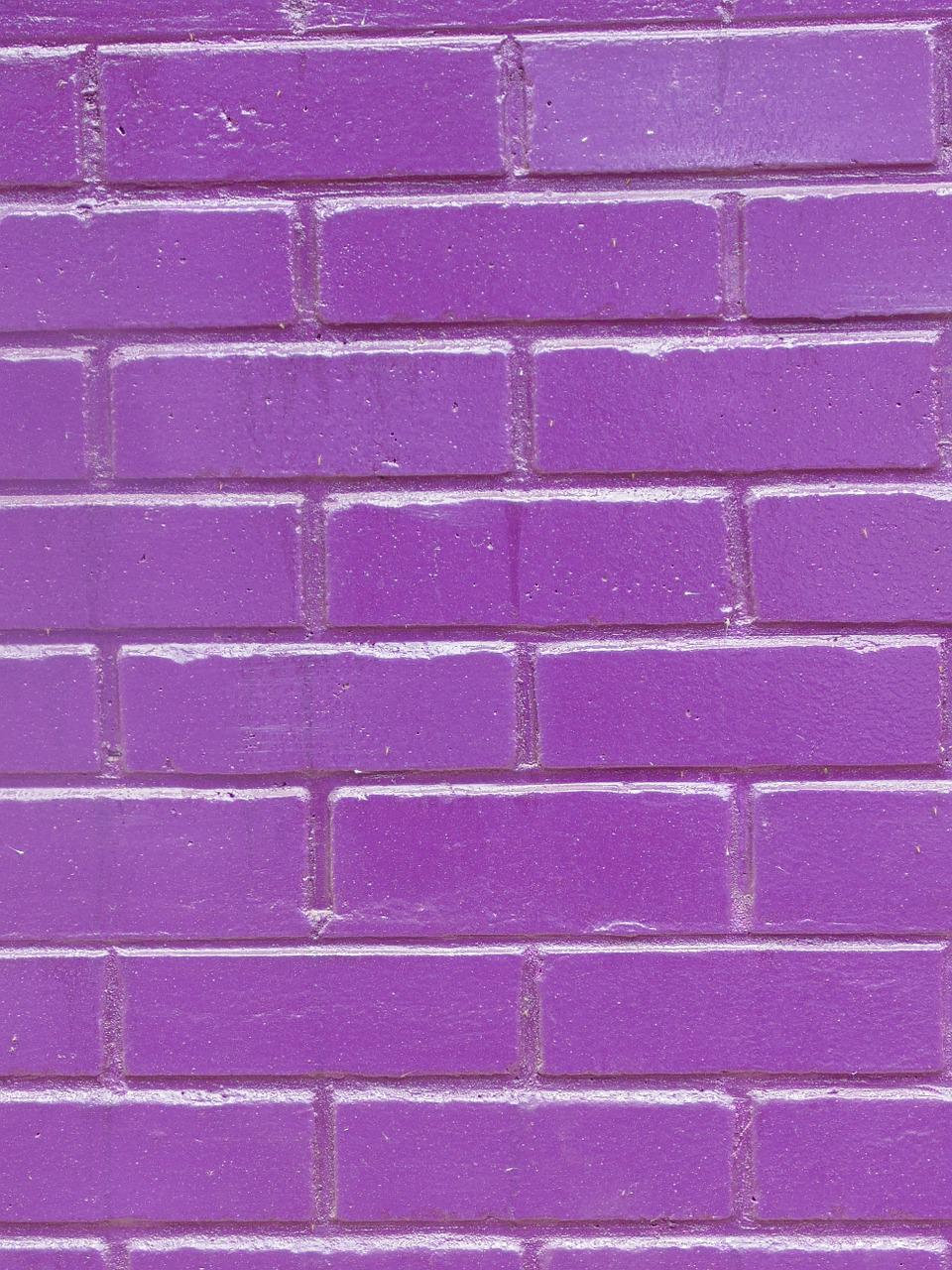 Фон фиолетовая стена