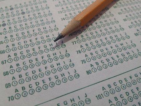 Teste, Testes, Formulário De Bolha