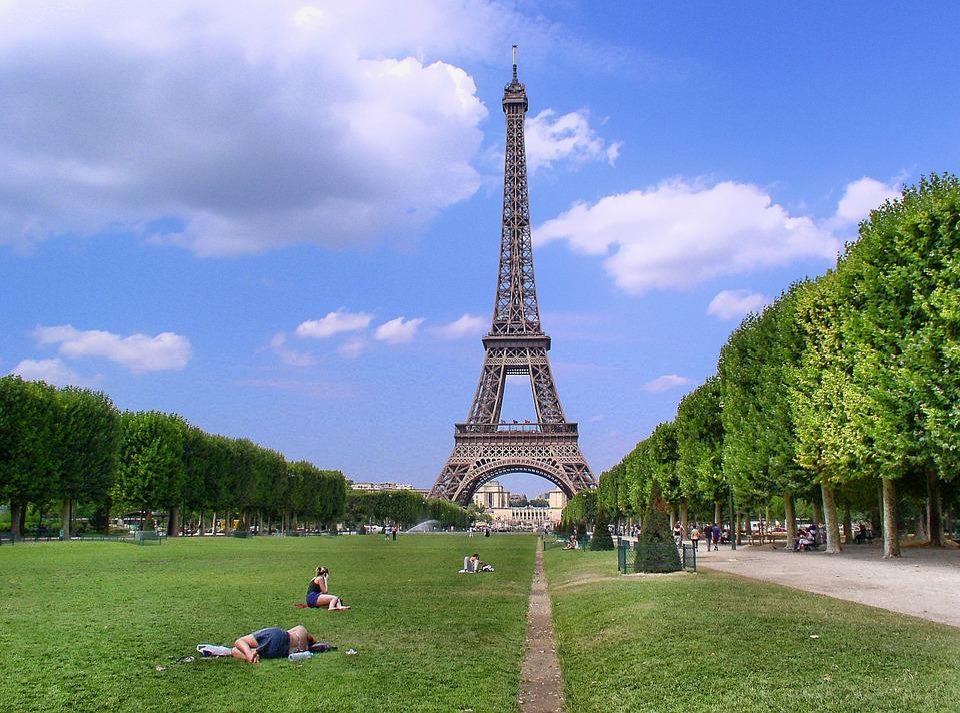 Paris, Tour Eiffel, Champ De Mars, Symbole