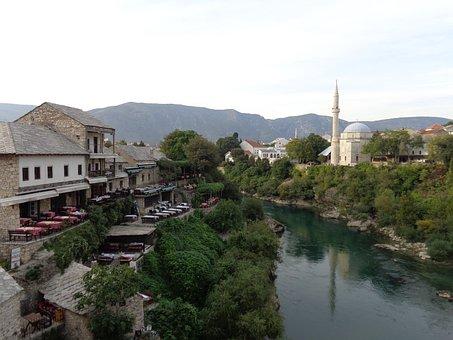 Mostar, Bosnia, Herzegovina, Mosque