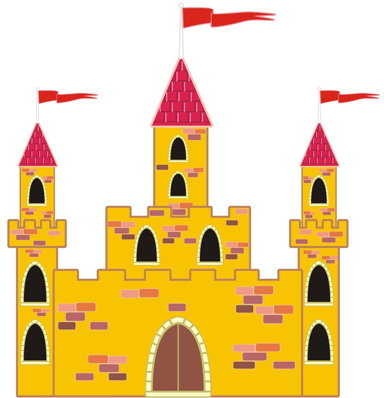 Картинки замок для доу