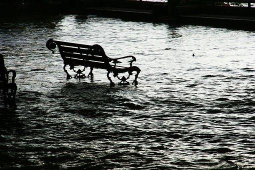 Inondation, Siège