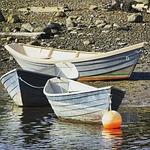 boat, tide, dingy