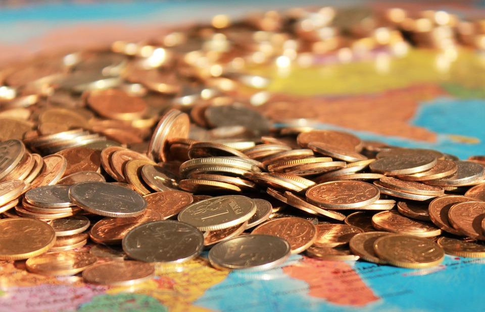 Monedas, Dinero, Rublo, Salario, Mapa, Soborno