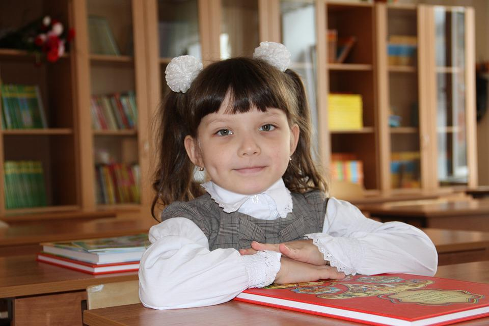 Schoolgirl, Baby, Study, First Day, School, Class