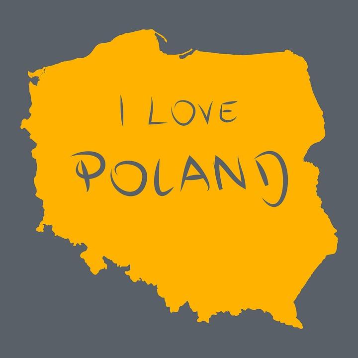 Puola Puolan Kartta Maan Ilmainen Kuva Pixabayssa