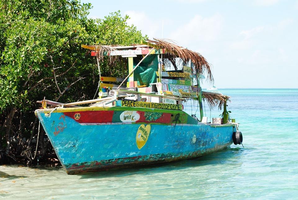 Belize, Cay Caulker, Ambra, Ameryka Środkowa, Wyspa