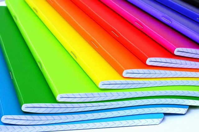 Notebooks Color Colored 183 Free Photo On Pixabay