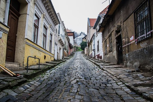 Road, Paving Stones, Cobblestones
