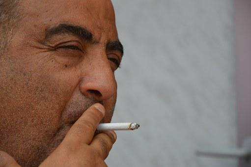 Man, Mediterranean, Smoking, Cigarette