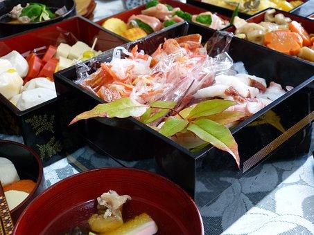 日本料理, お正月料理, おせち料理, スターター, ニブル, パーティー料理