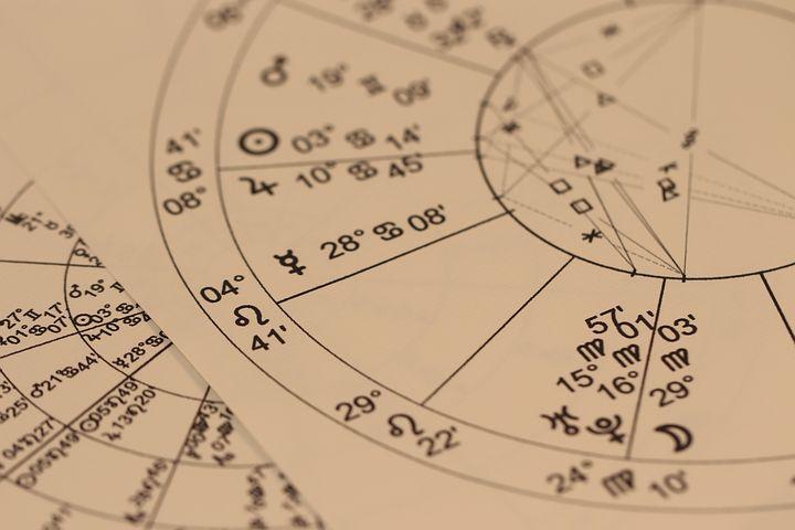 占星術, 占い, チャート, 星占い, 干支, てんびん座, 水瓶座, おとめ座