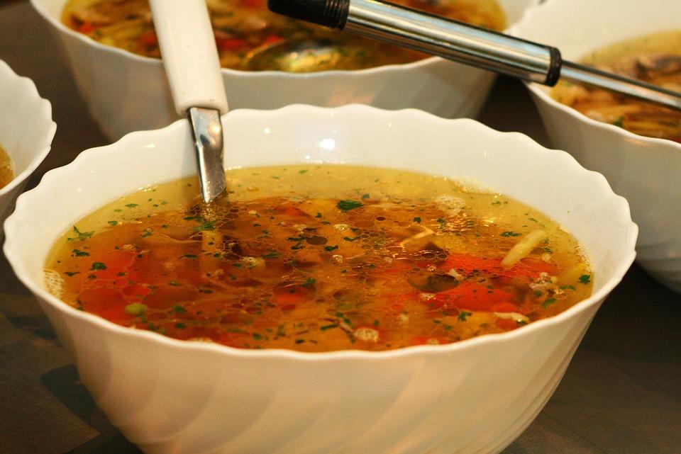 Питание, Суп, Ковш, Чаша, Ужин, Супы, Приготовления