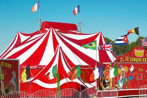 Zirkus Festzelt Zirkuszelt Clown Zirkus Zi