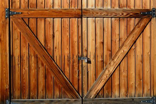Barn Door Farm Wood Wooden Entrance Rustic