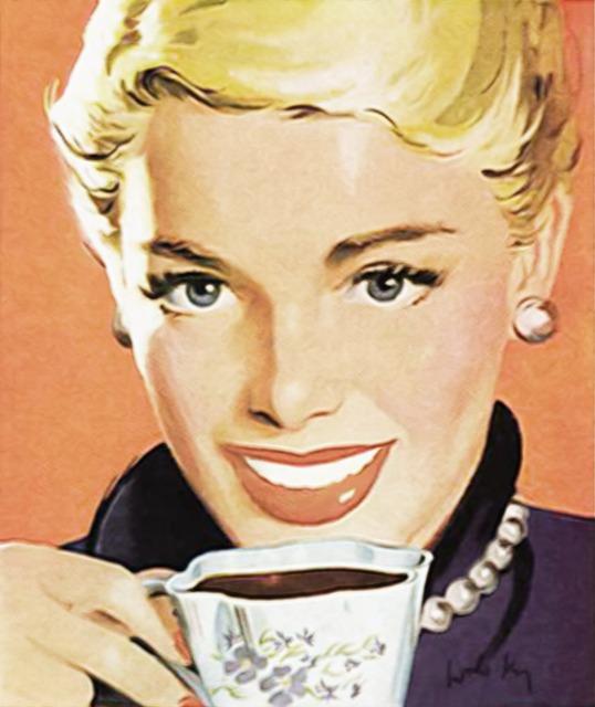 Coffee Tea Vintage Old...