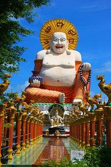 Buddha, Thailand, Koh Samui, Temple