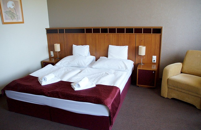 Free Photo Room Hotel Bed Double Bed Free Image On