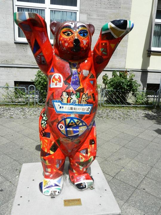 Teddy Bear Berlin Symbol Free Photo On Pixabay