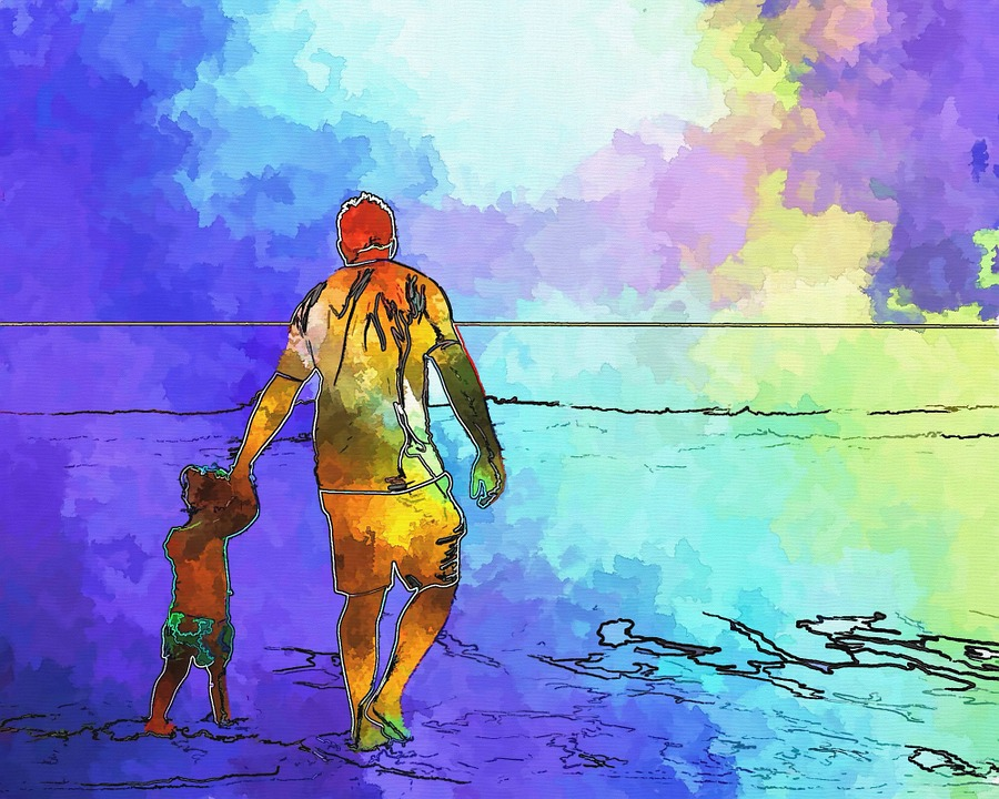 Ocean People Walking Summer Free Image On Pixabay