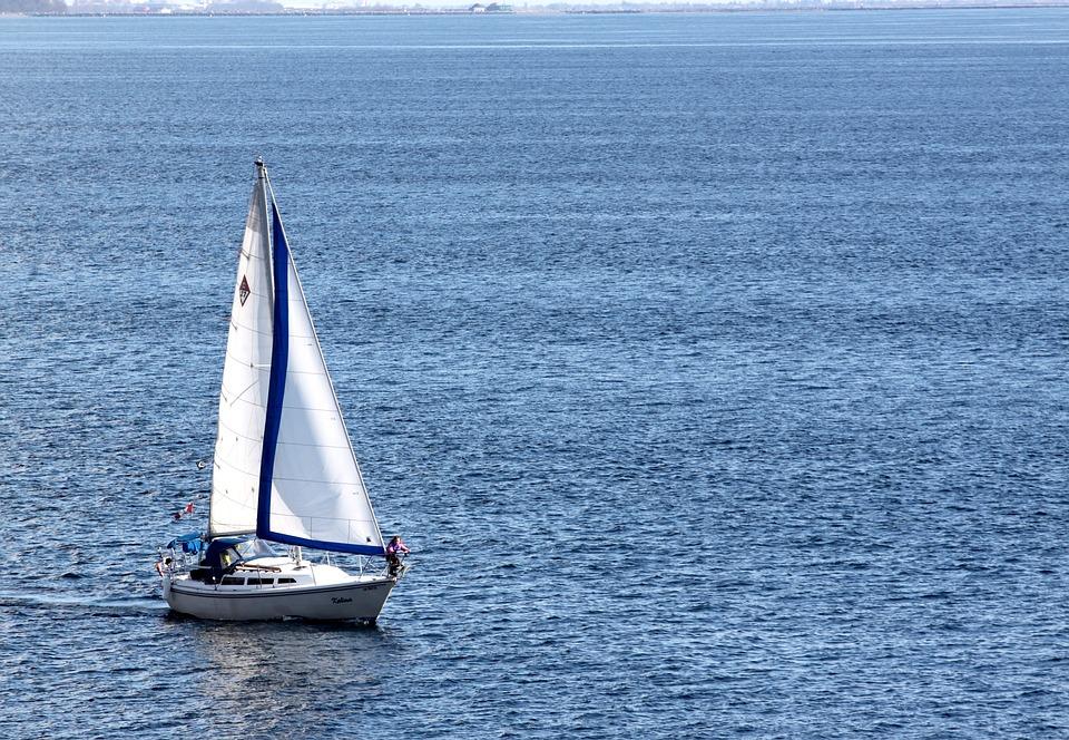 Perahu Layar, Pelayaran, Laut, Ocean, Air, Berlayar